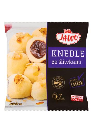 Картофельные шарики со сливами  КНЕДЛИ 10х450гр JAWO