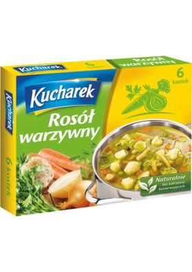 Caldo de verduras en cubitos 24x6x10gr KUCHAREK