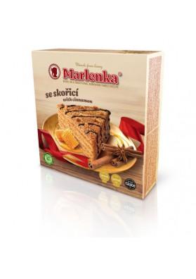 Tarta de miel MARLENKA con relleno de canela y crema 800gr.POLONIA