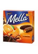 Bombones de jalea con sabor  naranja 24x190gr.MELLA
