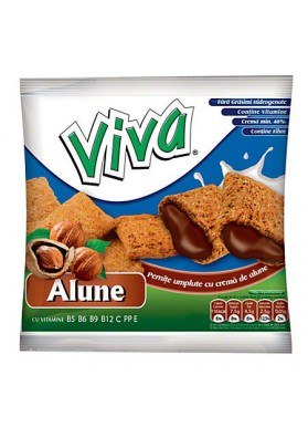 Almohaditas con crema de avellana 30x100gr VIVA